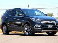 Twilight Black 2018 Hyundai Santa Fe Sport 2.4 Base FWD