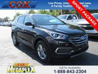 This 2018 Hyundai Santa Fe Sport 2.4 Base in Twilight