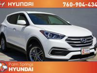 Gasoline! Talk about a deal! 2018 Hyundai Santa Fe