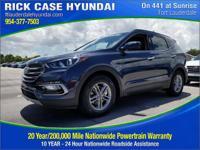 2018 Hyundai Santa Fe Sport 2.4 Base  in Marlin Blue