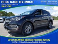 2018 Hyundai Santa Fe Sport 2.4 Base  in Twilight Black