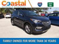 Blue 2018 Hyundai Santa Fe Sport 2.4 Base FWD 6-Speed