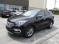 2018 Hyundai Santa Fe Sport 2.4 Base Black WITH SOME