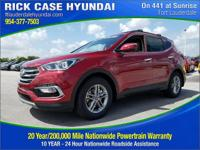 2018 Hyundai Santa Fe Sport 2.4 Base  in Serrano Red