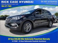 2018 Hyundai Santa Fe Sport 2.4 Base  in Twilight Black