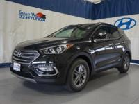 Black 2018 Hyundai Santa Fe Sport 2.4 Base AWD 6-Speed