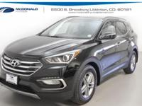 New Price! Black 2018 Hyundai Santa Fe Sport 2.4 Base