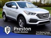 For a smoother ride, opt for this 2018 Hyundai Santa Fe