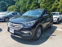 Twilight Black 2018 Hyundai Santa Fe Sport 2.4 Base AWD