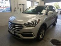 This 2018 Hyundai Santa Fe Sport 2.4 Base in Sparkling