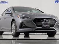 Machine Gray 2018 Hyundai Sonata ECO FWD 7-Speed