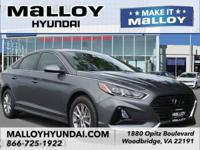 Recent Arrival! Gray Cloth.  Machine Gray 2018 Hyundai