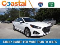 White 2018 Hyundai Sonata Limited 2.0T FWD 8-Speed