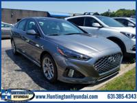 Machine Gray 2018 Hyundai Sonata 2.0T FWD 8-Speed