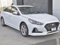White 2018 Hyundai Sonata Limited FWD 6-Speed Automatic