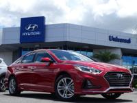 2018 Hyundai Sonata Limited Red Leather. 35/25
