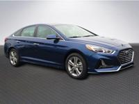 New Price! Blue 2018 Hyundai Sonata Limited FWD 6-Speed