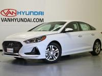 2018 Hyundai Sonata SEL 35/25 Highway/City MPG  Van