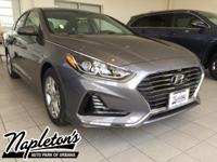 New Price! 2018 Hyundai Sonata in Gray, AUX CONNECTION,