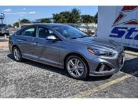 New Price! Machine Gray 2018 Hyundai Sonata Limited FWD