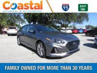 Gray 2018 Hyundai Sonata Limited FWD 6-Speed Automatic