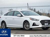 Quartz White Pearl 2018 Hyundai Sonata SE FWD 6-Speed