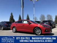 Scarlet Red 2018 Hyundai Sonata SE 36/25 Highway/City