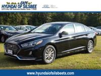 New Price! Phantom Black 2018 Hyundai Sonata SE FWD