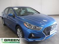 Electric Blue 2018 Hyundai Sonata SE FWD 6-Speed
