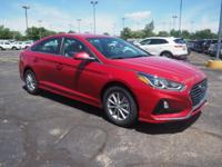 Scarlet Red 2018 Hyundai Sonata SE FWD 6-Speed