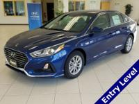 New Price! Lakeside Blue 2018 Hyundai Sonata SE FWD