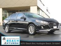 2018 Hyundai Sonata Phantom Black 6-Speed Automatic