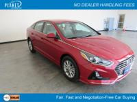 $2,422 off MSRP! Scarlet Red 2018 Hyundai Sonata SE