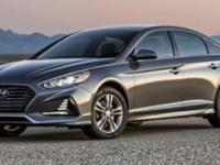 Factory MSRP: $23,175 2018 Hyundai Sonata SE Phantom