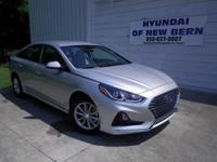 Silver 2018 Hyundai Sonata SE FWD 6-Speed Automatic