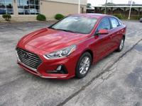 2018 Hyundai Sonata SE Red WITH SOME AVAILABLE OPTIONS