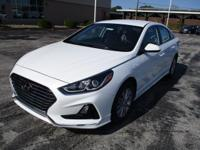 2018 Hyundai Sonata SE White WITH SOME AVAILABLE