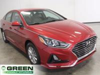 New Price! Scarlet Red 2018 Hyundai Sonata SE FWD