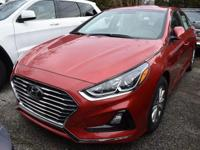 Red 2018 Hyundai Sonata SE FWD 6-Speed Automatic with