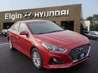 EPA 36 MPG Hwy/25 MPG City! SCARLET RED exterior and