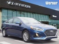 Blue 2018 Hyundai Sonata SE FWD 6-Speed Automatic with