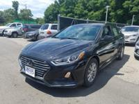 Phantom Black 2018 Hyundai Sonata SE FWD 6-Speed