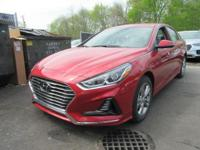Scarlet Red 2018 Hyundai Sonata SEL FWD 6-Speed
