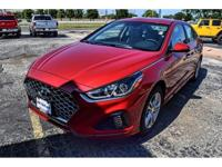 New Price! Scarlet Red 2018 Hyundai Sonata SEL+ FWD