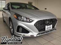 2018 Hyundai Sonata in Silver, AUX CONNECTION, USB,