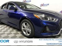 2018 Hyundai Sonata Limited Leather. 35/25 Highway/City