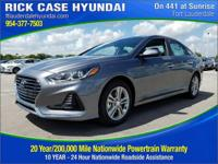 2018 Hyundai Sonata SEL  in Machine Gray and 20 year or