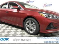 2018 Hyundai Sonata SEL 35/25 Highway/City MPG COMFORT