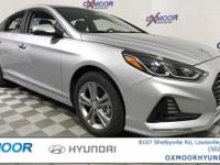 2018 Hyundai Sonata SEL 35/25 Highway/City MPG17-Inch