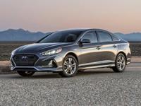 2018 Hyundai Sonata Limited Blue Factory MSRP: $31,390